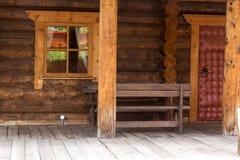 Entrata e finestra fotografie stock libere da diritti