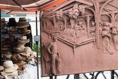Entrata francese del mercato di New Orleans immagine stock