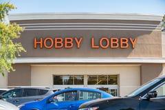 Entrata loby del deposito di hobby immagine stock libera da diritti