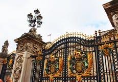 Entrata Londra Regno Unito di Buckingham Palace Immagine Stock