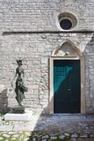 Entrata mediterranea della casa Fotografie Stock Libere da Diritti