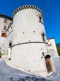 Entrata Montasola del castello Fotografia Stock