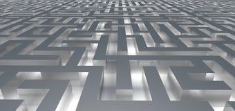Entrata nel labirinto di incandescenza Immagini Stock Libere da Diritti