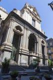 Entrata nella chiesa di Ruffi di dei di San Giuseppe fotografia stock