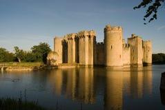 Entrata nordica del castello di Bodiam Fotografie Stock