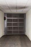 Entrata a parcheggio sotterraneo Fotografie Stock