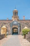 Entrata principale al castello di buona speranza fotografia stock