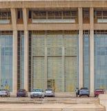 Entrata principale al fondamento per pace Yamoussoukro Costa d'Avorio Costa d'Avorio Africa occidentale fotografia stock