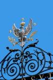 Entrata principale all'università di Varsavia  Fotografia Stock