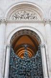 Entrata principale della cattedrale Immagini Stock Libere da Diritti