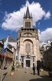 Entrata principale della cattedrale di Aquisgrana fotografia stock libera da diritti