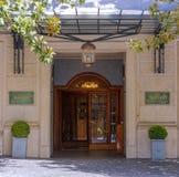 Entrata principale di grande flora dell'hotel di Marriot a Roma Fotografia Stock Libera da Diritti
