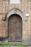 Entrata principale medievale a Roma immagine stock libera da diritti