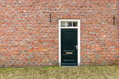 Entrata principale olandese Immagini Stock