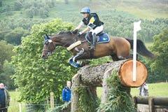 Entrata svedese: Prove di cavallo internazionali 2011. Fotografia Stock