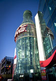 Entrata Vegas della bottiglia del coke Fotografia Stock