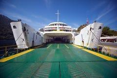 Entrata vuota del traghetto immagini stock libere da diritti
