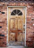 Entrate principali di legno Fotografia Stock