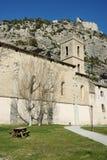 Entravaux, средневековый городок в Франции Стоковое Изображение RF