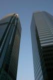 Entre as torres Imagem de Stock