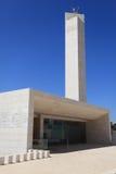 Entrée de mosquée, complexe de la tombe d'Arafat Images stock