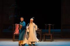 """Entre el monarca y su Shan de tema-Shanxi Operatic""""Fu al  de Beijing†Imagen de archivo"""