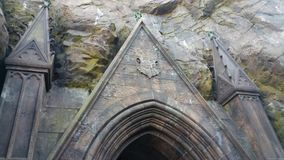 Entre en Hogwarts Foto de archivo libre de regalías