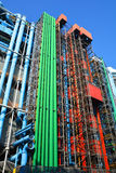 Entre Georges Pompidou in Paris Royalty Free Stock Photography