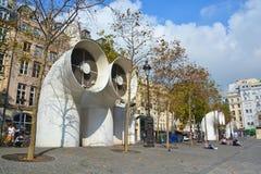 Entre Georges Pompidou in Paris Stock Photo