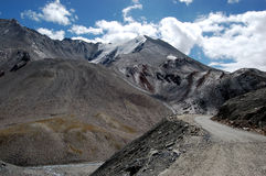 Entre Ladakh e Kashmir Fotos de Stock Royalty Free