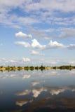 Entre las nubes Imágenes de archivo libres de regalías