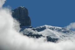 Entre las nubes Foto de archivo