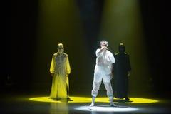 """Entre le  de shelter†de dance""""No de raison et de ` s de désir-Huang Mingliang Images libres de droits"""