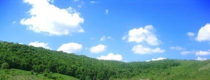 Entre le ciel et l'eart Image libre de droits