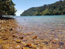 Entre les îles tropicales Photographie stock