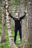 Entre les arbres Images libres de droits