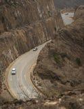 Entre les montagnes Image stock