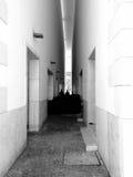 Entre les murs Image libre de droits