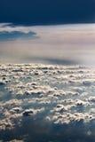 Entre les nuages Photographie stock