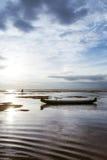 Entre marés Fotografia de Stock Royalty Free