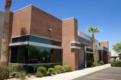 Entrée moderne d'immeuble de bureaux de corporation Image stock