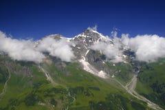 Entre nuvens Foto de Stock