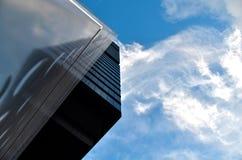 Entre o céu e o solo Fotos de Stock
