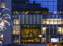 Entrée pour trump la tour dans NYC Image stock