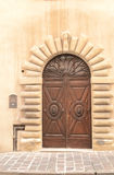 Entrée principale italienne Photographie stock
