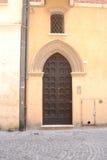 Entrée principale médiévale Image libre de droits