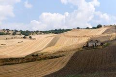 Entre Puglia y Basilicata (Italia) Imagenes de archivo