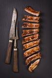 Entrecostos de porco Imagem de Stock Royalty Free