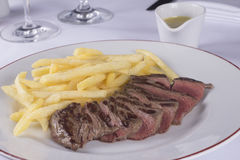 Entrecote Stock Photo