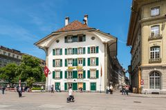 Entrecote Cafe Federal in Bern, Switzerland Royalty Free Stock Photos
